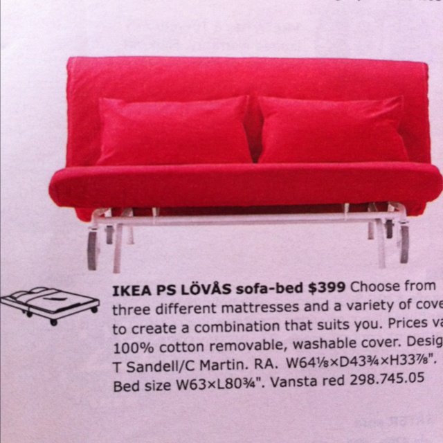 Ikea Ps Lovas Sofa Bed Decorating Interior Of Your House