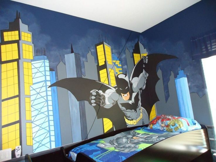 Batman Bedroom Theme  -  There are several superhero characters that popular among kids and even adults. One of them is a Batman. Whatever you want to create a Batman bedroom ... Check more at http://www.xtend-studio.com/7167-batman-bedroom-theme/