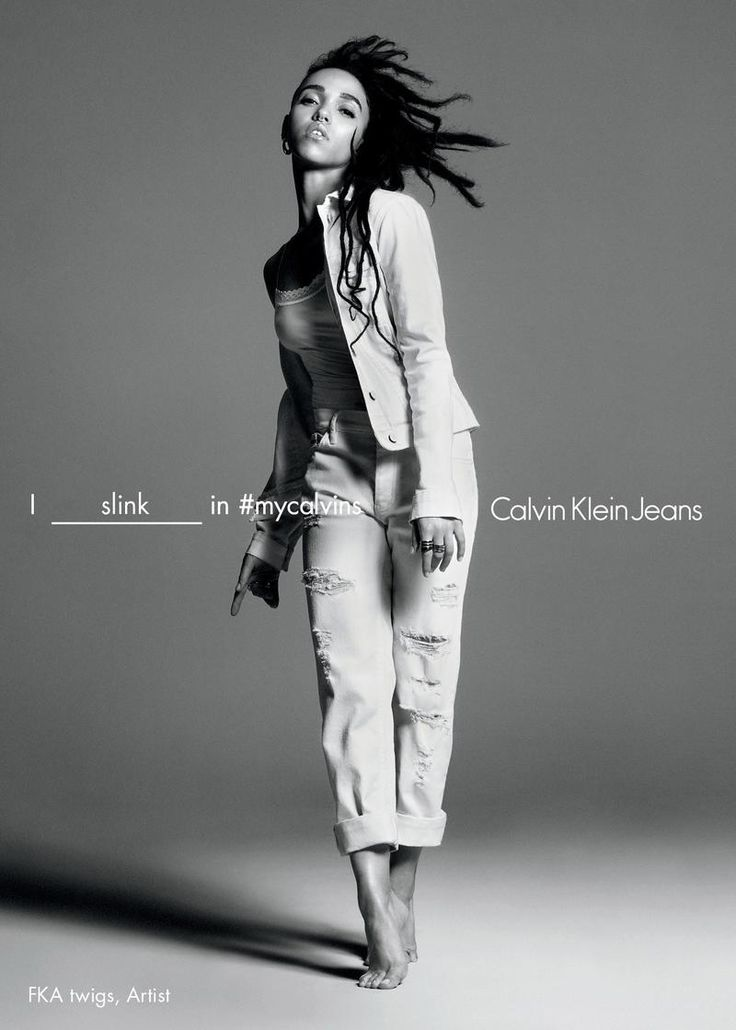 FKA TWIGS FOR CALVIN KLEIN JEANS SPRING 2016 AD CAMPAIGN + VIDEO • Minimal . / Visual .
