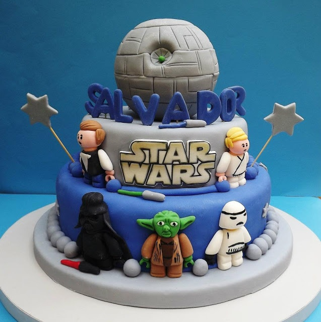 TORTA STAR WARS - idea torta - regalo - smash the cake - cake ...