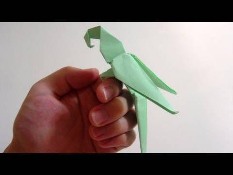 Origami Macaw Parrot - Arara de Origami