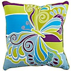 <3Pier1 Pillows, Design Inspiration, Butterflies Stripes, Throw Pillows, Cove Butterflies, Butterflies Pillows, Stripes Pillows, Catalina Cove, Pillows Pier