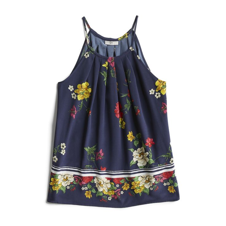 Spring Stylist Picks: Sleeveless floral top