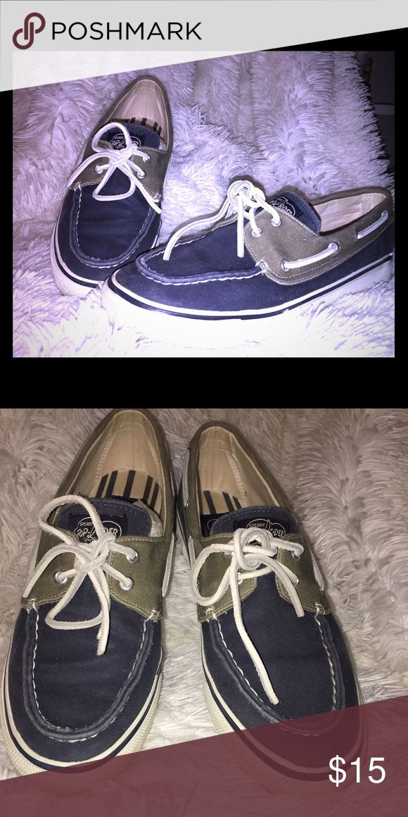 SPERRY TOP SIDER SPERRY Top SIDER flats barely worn!! So comfy and cute! Sperry Top-Sider Shoes Flats & Loafers