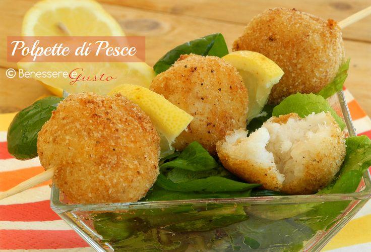 Polpette di pesce al forno, Ricetta Finger food, secondo piatto, Sfiziose e gustose Polpette al forno facili. Idea per far mangiare pesce ai bambini,