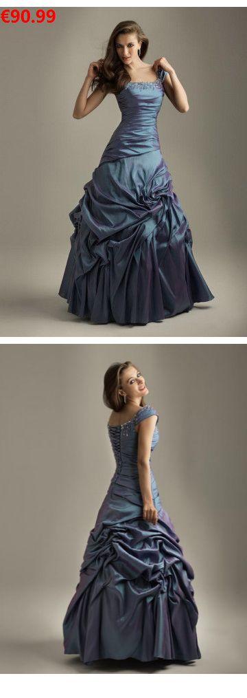 Duchesse-Linie aus Taft Carré-Ausschnitt Schnürung Ausgefallene Abendkleider/Abiballkleider lang                                 Specifications                                              ÄRMELLÄNGE          Ärmellos                                  AUSSCHNITT          Carré-AUSSCHNITT                                  RÜCKEN          Schnürung                                  SAUMLÄNGE / SCHLEPPE#fashionpartydress#weddingshopping#neuekollecktion2018#Kleid#stuttgart#ballkleider lang