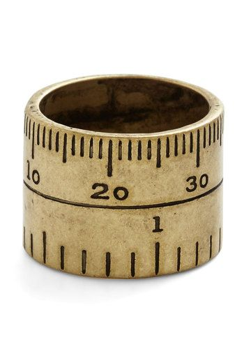 Unity of Measure Ring, @ModCloth
