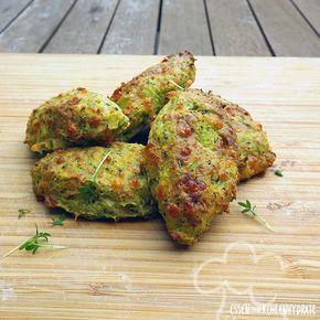 Low Carb Rezept für leckere Low-Carb Brokkoli-Cheese-Nuggets. Wenig Kohlenhydrate und einfach zum Nachkochen. Super für Diät/zum Abnehmen.