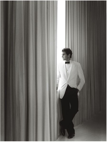 Roger Federer by Mario Testino - WOW.