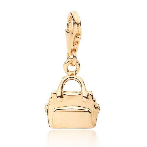 Handbag Charm Gold Plated