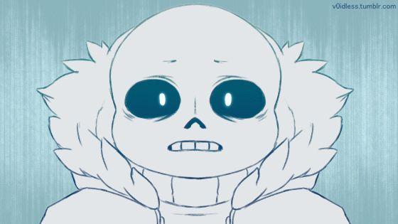 *crASHES THROUGH WINDOW* IS SENPAI CRYING!? <<< sans bb no! *hugs him tight* ;-;