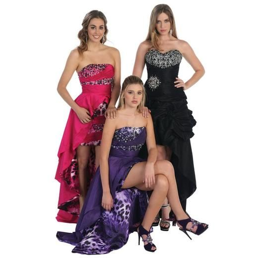 Designer ! SALE ! HIGH LOW SWEET SIXTEEN 16 DRESS SEXY SHORT N' LONG PROM EVENING GOWN ANIMAL PRINT FORMAL GRADUATION ATTIRE & PLUS SIZE