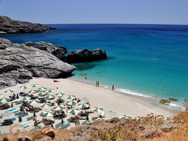 Amoudaki beach, South coast, Retymno, Crete, Greece