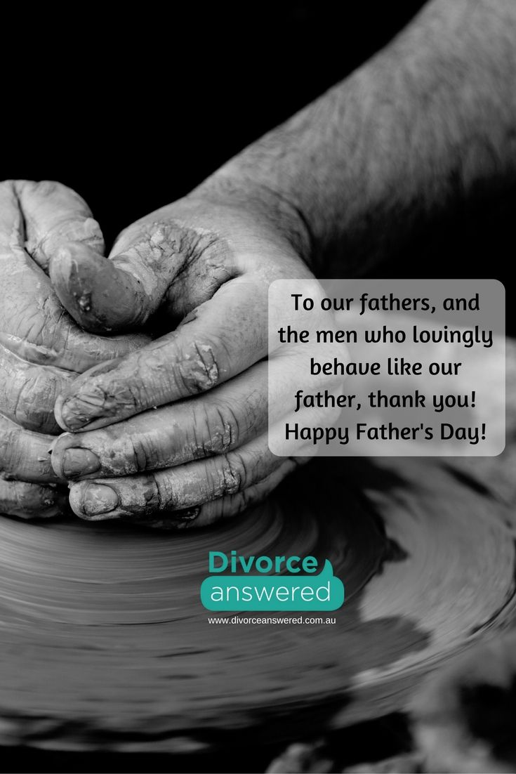 To the biological fathers and men who lovingly parent (uncle, granddad, friends), you are celebrated today. Thank you and Happy Father's Day! #divorceanswered #divorce #separation #fathersday
