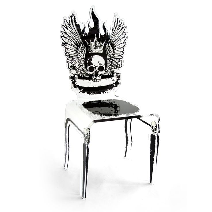This chair is your dark side, love it!