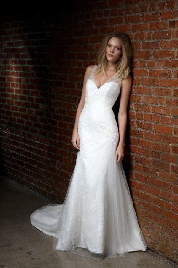 Fit and flare wedding dress | Henry Roth 2015 Wedding Dresses via @WorldofBridal