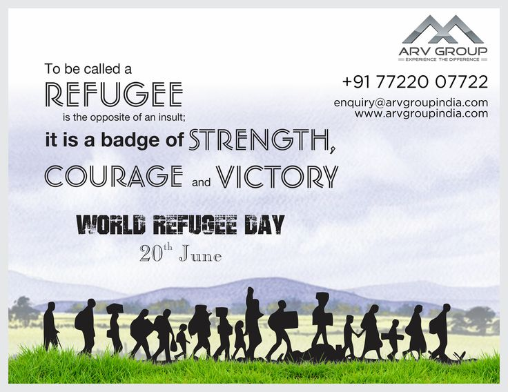 #worldrefugeeday