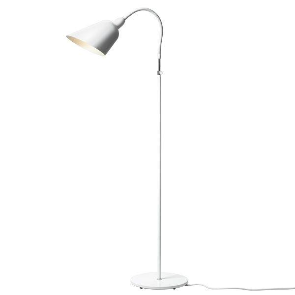 Bellevue è la prima lampada creata dal celebre designer danese Arne Jacobsen. Per questa lampada Jacobsen ha tratto l'ispirazione dalla moderna produzione in acciaio tubolare e dal design dei modernisti dell'era Bauhaus.
