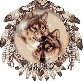 Wolf Dream Catcher