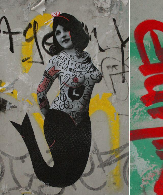 Personal sticker's project in Berlin/Germany.