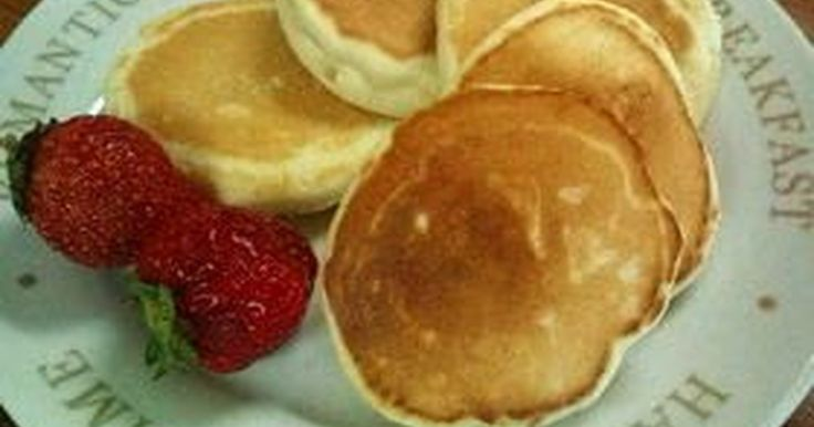 Great recipe for Wheat & Egg-free Rice Flour and Soy Milk Pancakes.