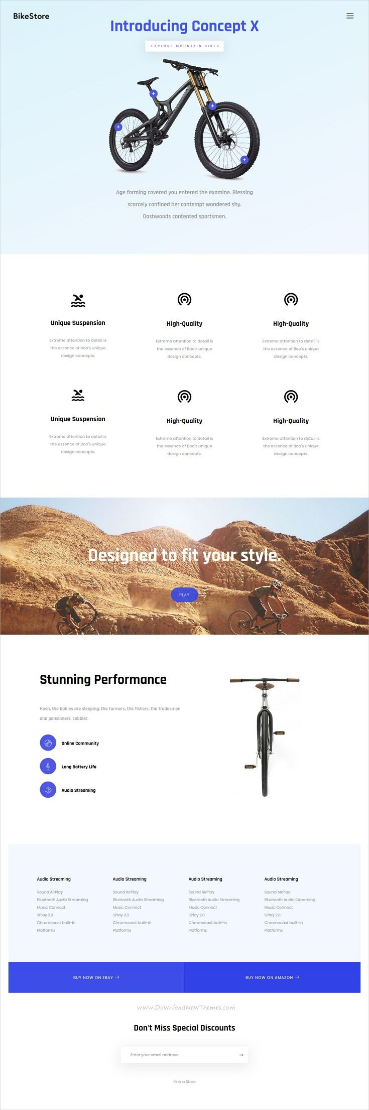 Boo is clean, stylish and modern design multipurpose responsive #WordPress theme for single #product #presentation website with 35+ niche homepage layouts download now..