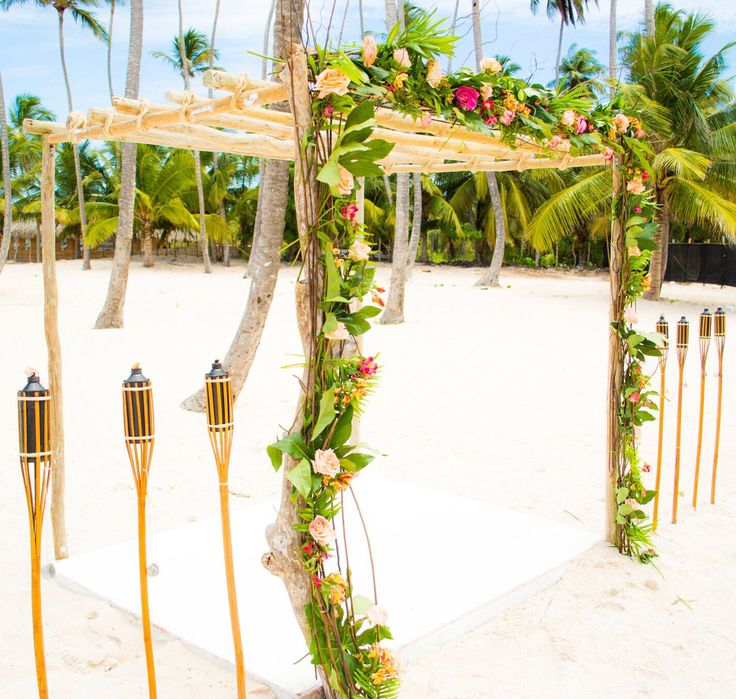 Beautiful setup for my beautiful couple at the Jellyfish Venue in Punta Cana, Dominican Republic.