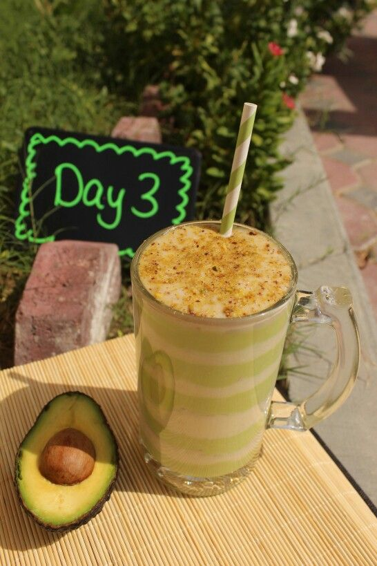 ... pistachio Directions: Blend avocado, 2 tablespoons of yogurt, 2