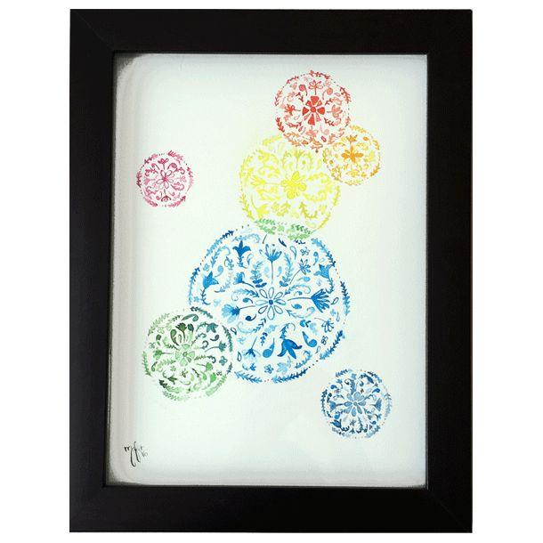 Mas Flores - Watercolor #Art3Mas