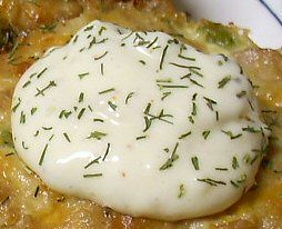 TARTAR SAUCE    1/4 cup mayonnaise    2 tablespoons dill pickle relish    1/8 teaspoon celery seed    Dash pepper    1/8 teaspoon dill   Mix all of the ingredients in a small bowl. Spoon about 1 tablespoon sauce over each Tuna Muffin.   Makes about 6 tablespoons    Do not freeze