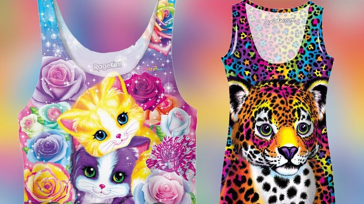 7 Pieces From Lisa Frank's Clothing Line Every '90s Girl Needs: A '90s revival wouldn't be complete without the return of Lisa Frank .