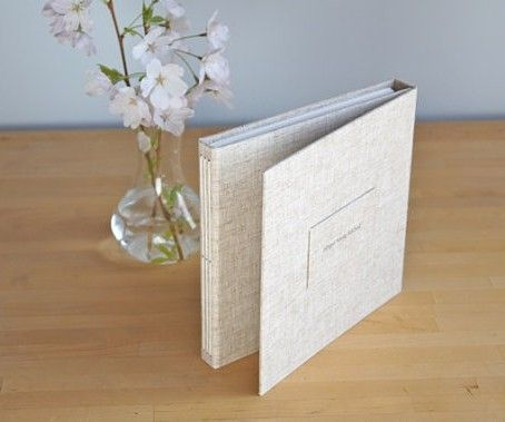 Trifold Album (Shown in Rye with Plaque)