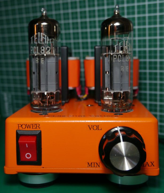 PCL82(16A8) DIY-Audio Single-Ended DC-DC Stereo Tube