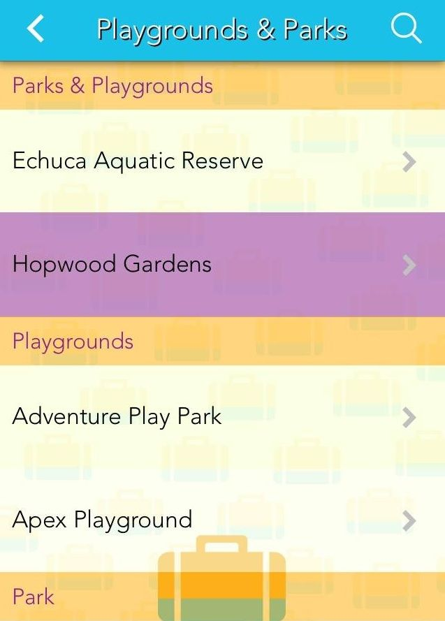 Appy Town app snapshot: Playgrounds and Parks in Echuca - Moama