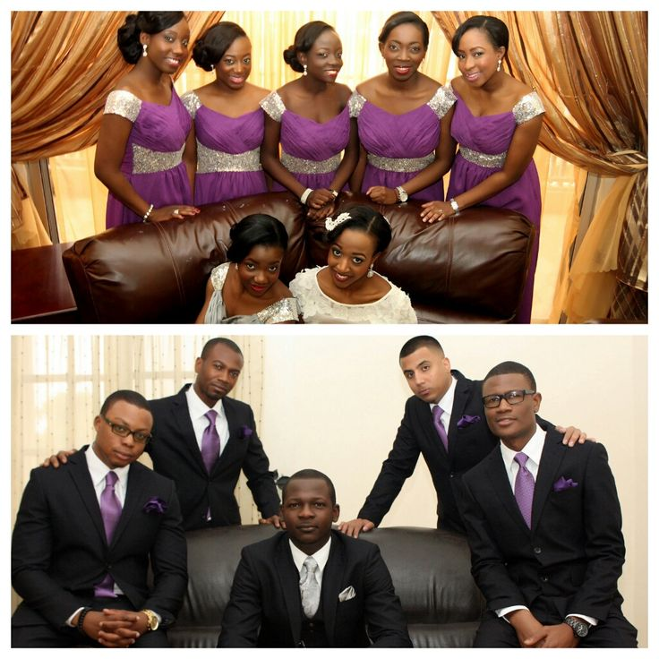Nigerian Wedding Party: 68 Best Bridesmaids Dresses Images On Pinterest