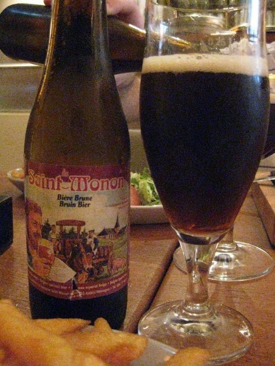 Brasserie Saint-Monon - Saint-Monon Brune(Abbey dubbel) 7,5% pullo