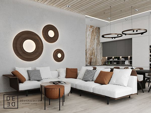 De De Villa On Cyprus First Floor On Behance Interior Design