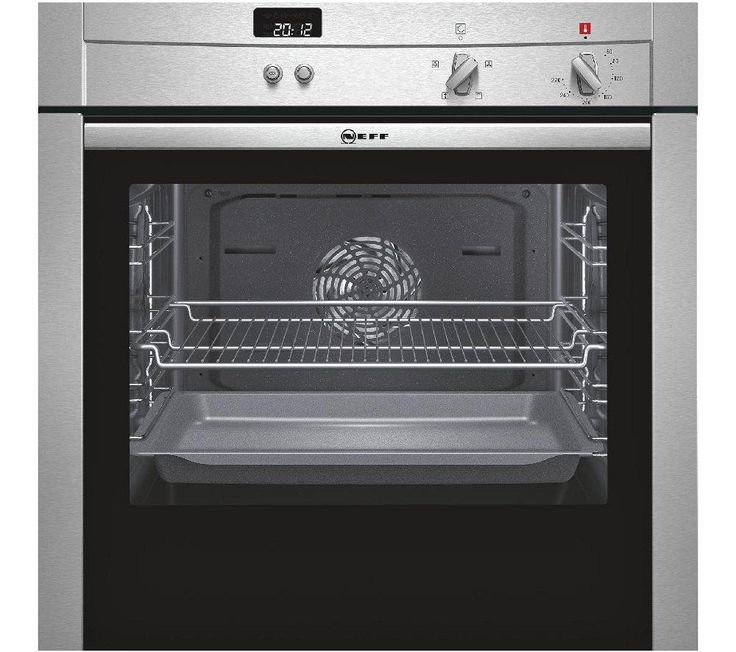 NEFF B44S32N3GB Slide & Hide Electric Oven - Stainless Steel