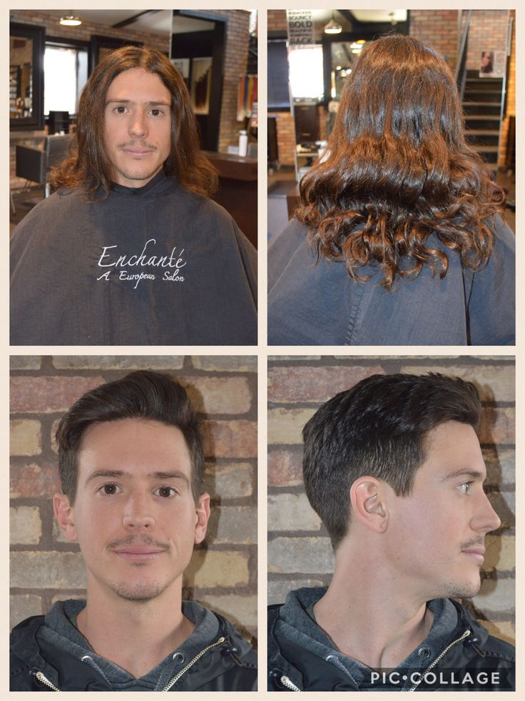 Amazing male hair transformation! From long hair to short cut!