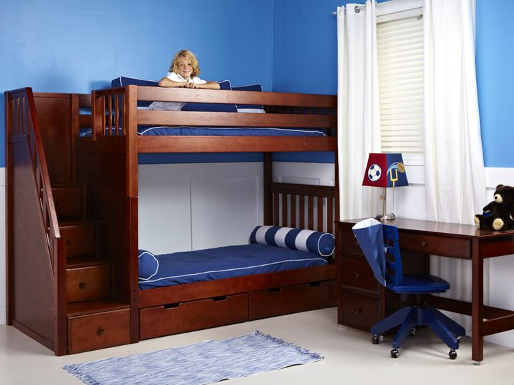 12 best bunk beds images on Pinterest | 3/4 beds, Bunk beds and ...