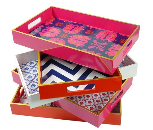 iomoi lacquer trays: Decor, Ideas, Lacquer Trays, Coffee Tables, Gift, Craft, Style, Diy, Design