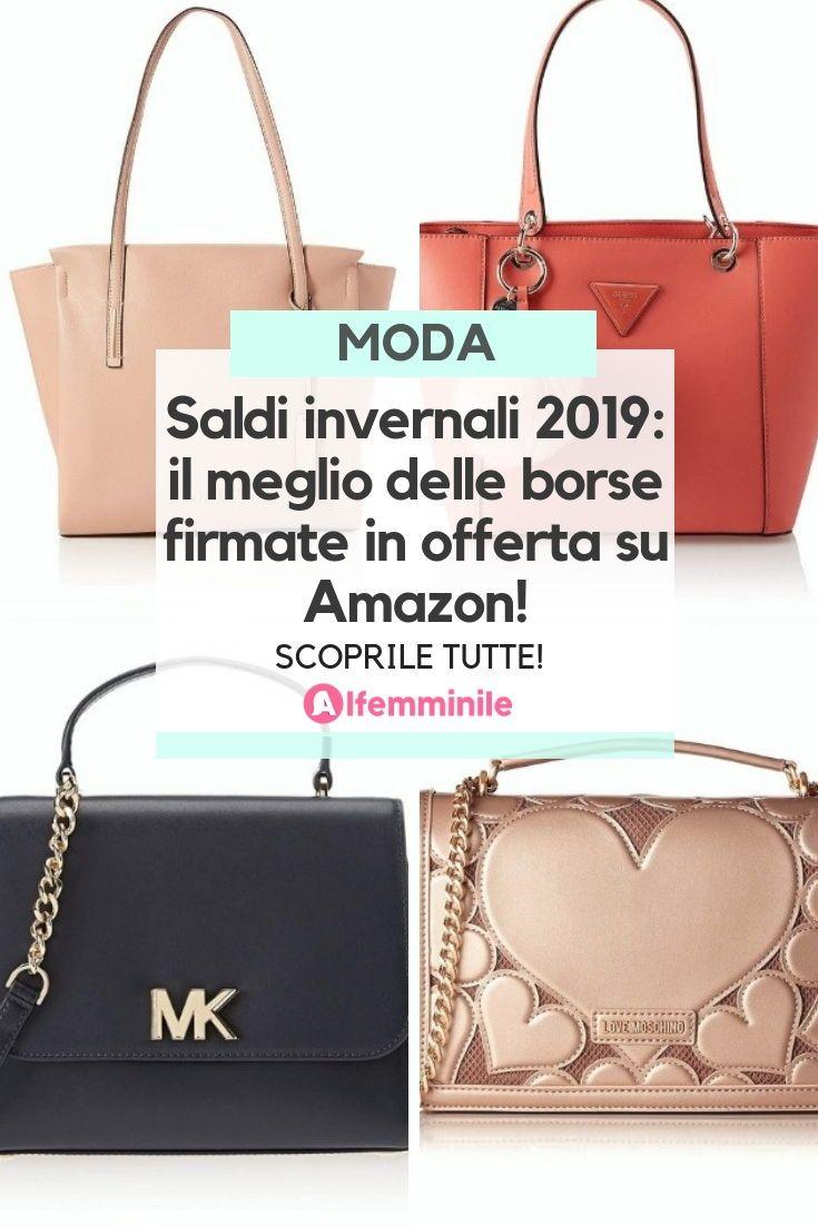 624e6c99fd Versace, Clavin Klein, Michael Kors, Guess, Moschino. Scopri le borse dei