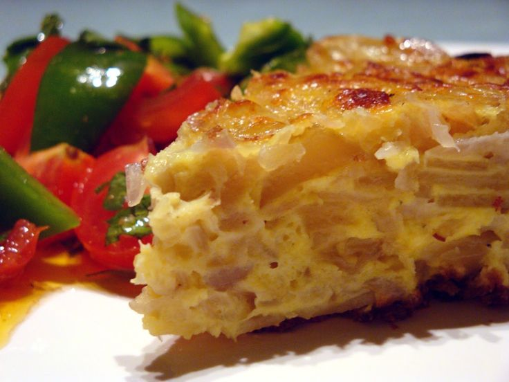 Home Cooking with Recipes: Spanish Omelette
