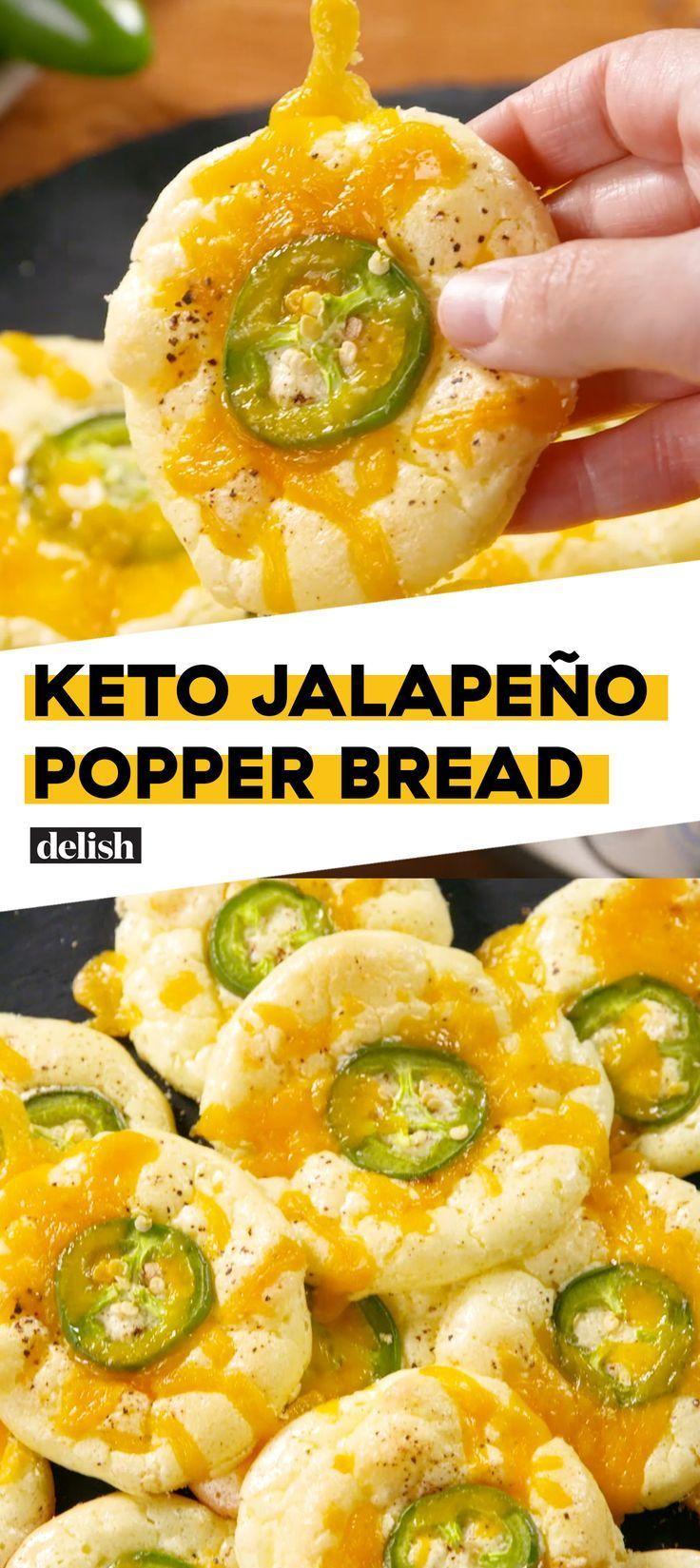 Dies ist die keto-freundliche Art, Jalapeño Poppers zu essen. Holen Sie sich das Rezept bei Delish …