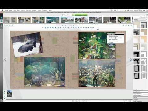 How to add photo frames in TaleWeaver Solo, free software available at MyPicTales.com. Create custom photobooks, calendars, cards and scrapbook pages to treasure your precious moments.