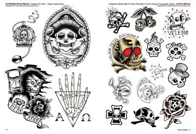 Small Skull Tattoos for Pinterest