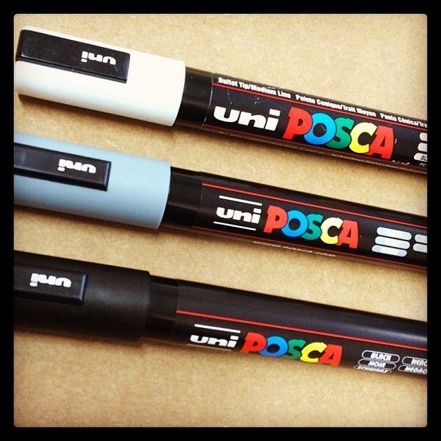 New #posca #marker #longboard