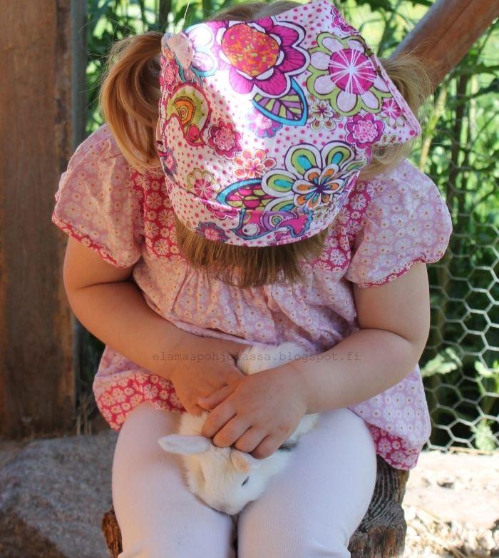 Elämää pohjolassa: Kolmeviikkoiset kaninpoikaset