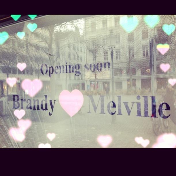 Opening soon Brandy Melville #Switzerland #Zurich #Schweiz #Swiss #love #BrandyGirls #BrandyMelville