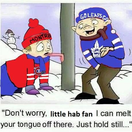 LOL ;)  ~Merry Christmas from the Leafs!!